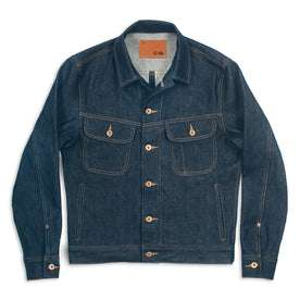 Cone Mills Jacket, Raw Denim Jacket