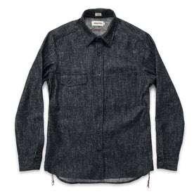 The Utility Shirt in Heavy Slub Denim: Alternate Image 6
