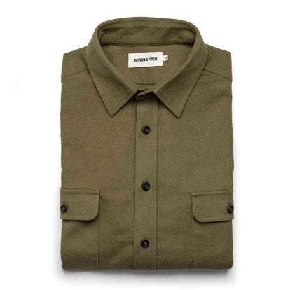 The Yosemite Shirt in Dusty Army