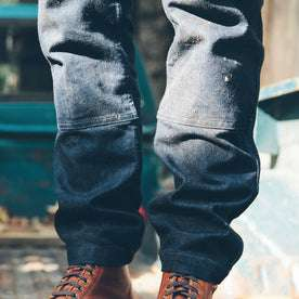 The Double Knee Moto Jean: Alternate Image 5