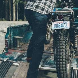 The Double Knee Moto Jean: Alternate Image 4