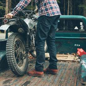 The Double Knee Moto Jean: Alternate Image 6