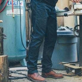 The Double Knee Moto Jean: Alternate Image 3