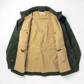 The Harris Jacket in Forest Dry Wax: Alternate Image 11