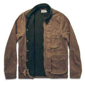 The Rover Jacket in Field Tan Waxed Canvas: Alternate Image 7