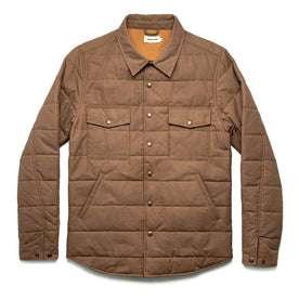 The Garrison Shirt Jacket in British Khaki Dry Wax: Featured Image