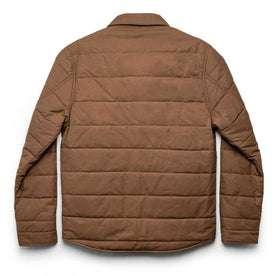 The Garrison Shirt Jacket in British Khaki Dry Wax: Alternate Image 11
