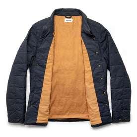 The Garrison Shirt Jacket in Navy Dry Wax: Alternate Image 11