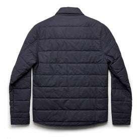 The Garrison Shirt Jacket in Navy Dry Wax: Alternate Image 12
