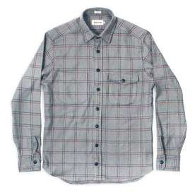 The Crater Shirt in Ash Plaid: Alternate Image 2