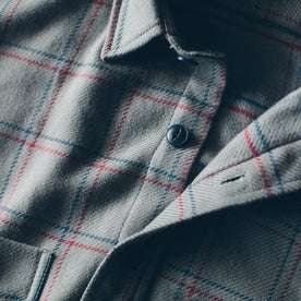 The Crater Shirt in Ash Plaid: Alternate Image 1