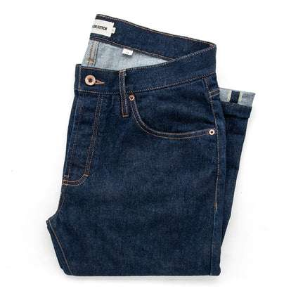 The Slim Jean in Organic Stretch Selvage