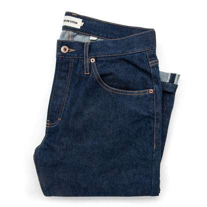 The Democratic Jean in Organic Stretch Selvage