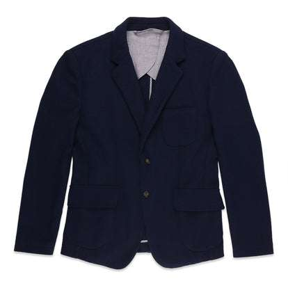 The Telegraph Jacket in Navy Boiled Wool