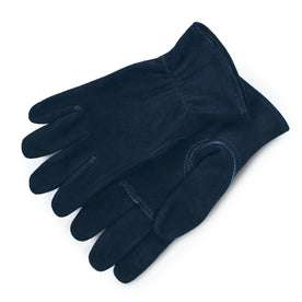 The Utility Glove in Navy Deerskin: Featured Image