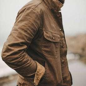 waxed canvas jacket pockets