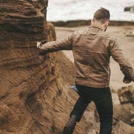 The Long Haul Jacket in Field Tan Waxed Canvas: Featured Image