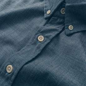 The Short Sleeve Jack in Sky Blue Chambray: Alternate Image 2