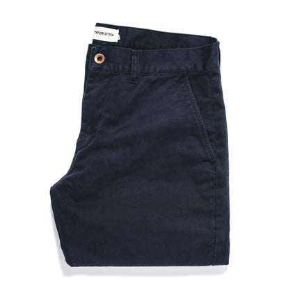 The Slim Chino in Organic Navy