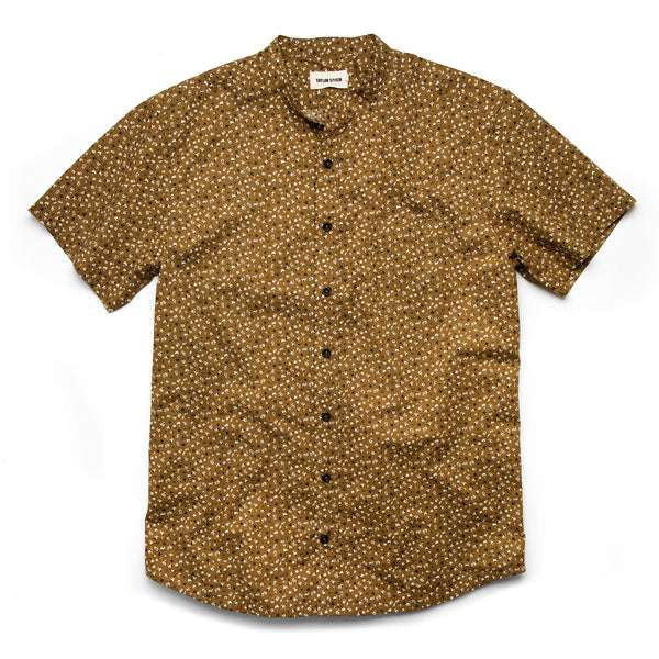 8c6c18c048 ... The Short Sleeve Bandit in Fatigue Brown Mini Floral