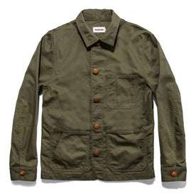 The Ojai Jacket in Olive: Featured Image