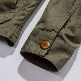 The Ojai Jacket in Olive: Alternate Image 7