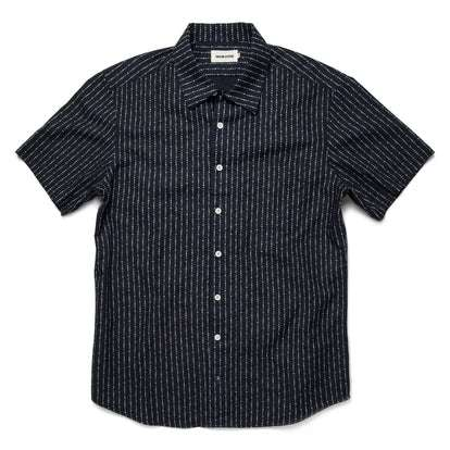 The Short Sleeve Hawthorne in Indigo Moon Phase