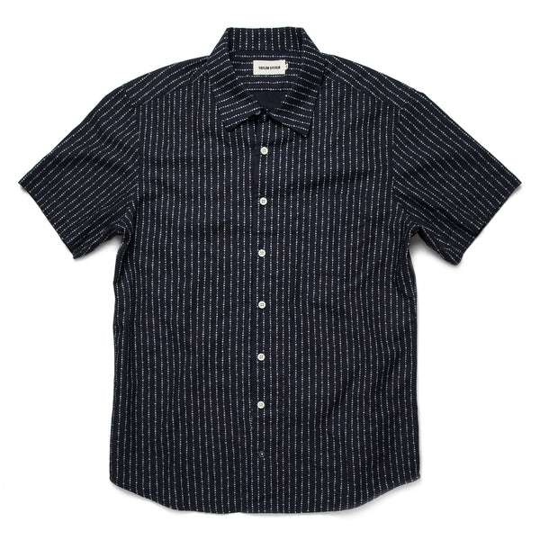 406aec7512 ... The Short Sleeve Hawthorne in Indigo Moon Phase