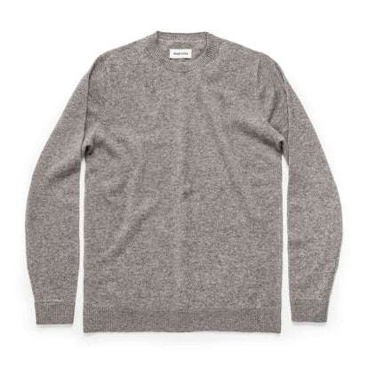 The Lodge Sweater in Light Grey