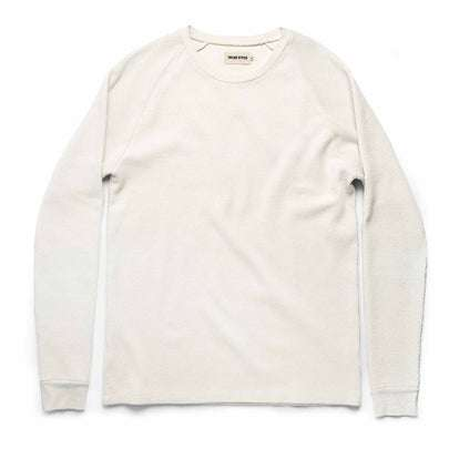 The Heavy Bag Waffle Long Sleeve in Natural