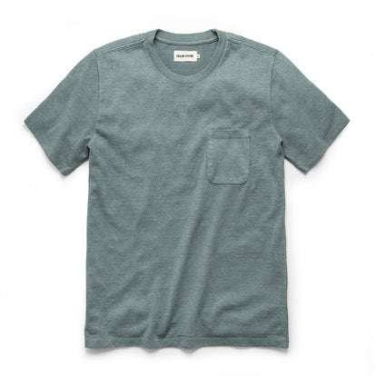 The Heavy Bag Tee in Seafoam