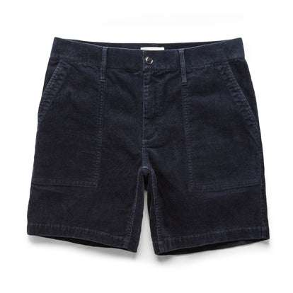 The Trail Short in Navy Cord