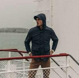 The Dalton Jacket in Navy: Alternate Image 2