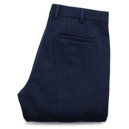 The Telegraph Trouser in Navy Boiled Wool