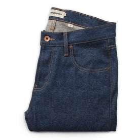 The Slim Jean in Indigo Broken Twill: Alternate Image 6