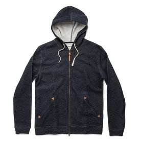 The Après Hoodie in Navy: Featured Image