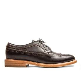 The Brogue in Espresso Leather: Featured Image
