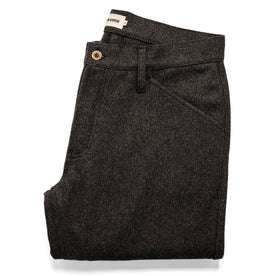 The Camp Pant in Charcoal Wool: Featured Image