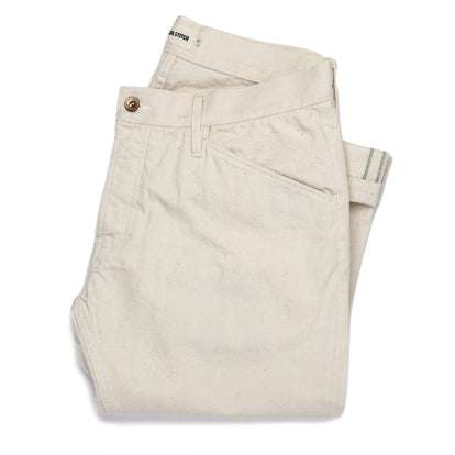 The Camp Pant in Organic Natural Selvage