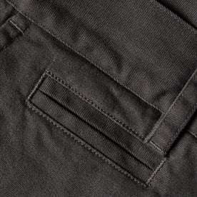 The Slim Chino in Organic Charcoal: Alternate Image 7