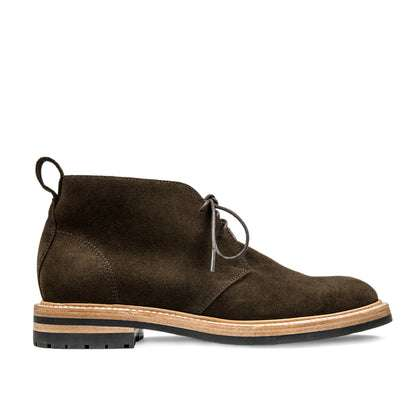The Chukka in Weatherproof Loden Suede
