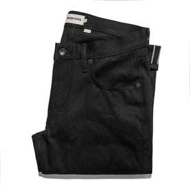 The Slim Jean in Yoshiwa Mills Black Selvage: Featured Image