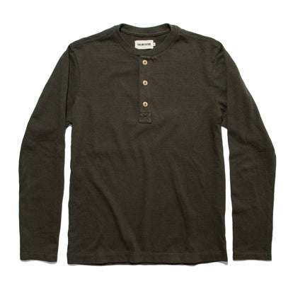 The Heavy Bag Henley in Cypress