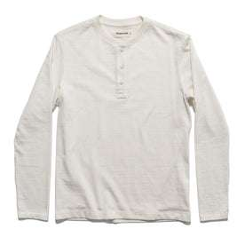 The Heavy Bag Henley in Natural: Featured Image