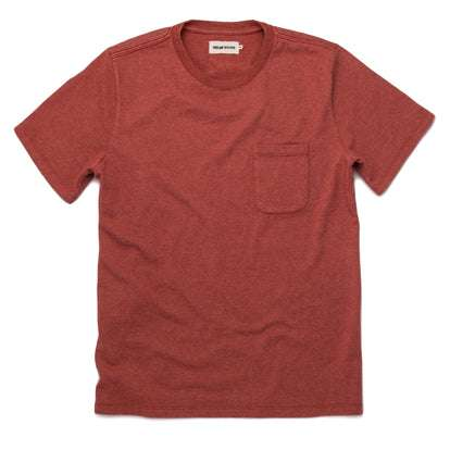 The Heavy Bag Tee in Washed Rust
