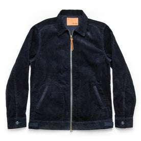 The Piston Jacket in Indigo Corduroy: Featured Image