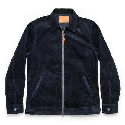 The Piston Jacket in Indigo Corduroy