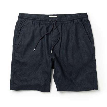 The Apres Short in Navy Hemp