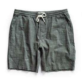 flatlay of shorts