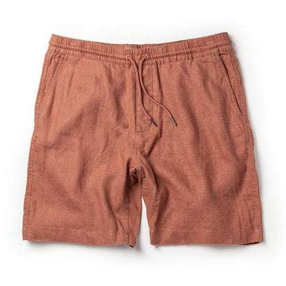 The Apres Short in Rust Hemp